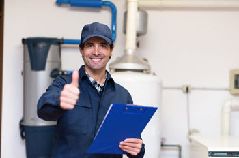 hot water heater repair service in Allentown PA home